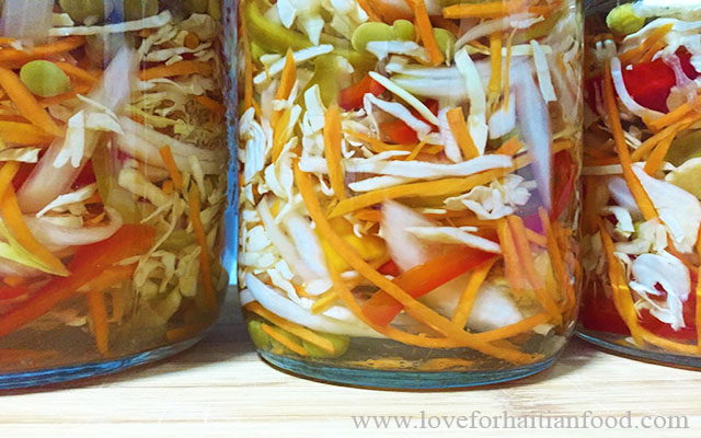 Pikliz spicy coleslaw love for haitian food when it comes to haitian cuisine there is a special condiment that we haitians love some cant live without it yes its that serious lol forumfinder Images