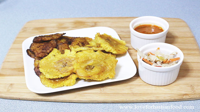 Banann Peze (Fried Plantains) – Love for Haitian Food